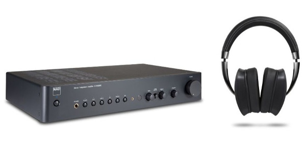 NAD Updates Popular C 316 BEE V2 Amp, Ships First Wireless Headphones