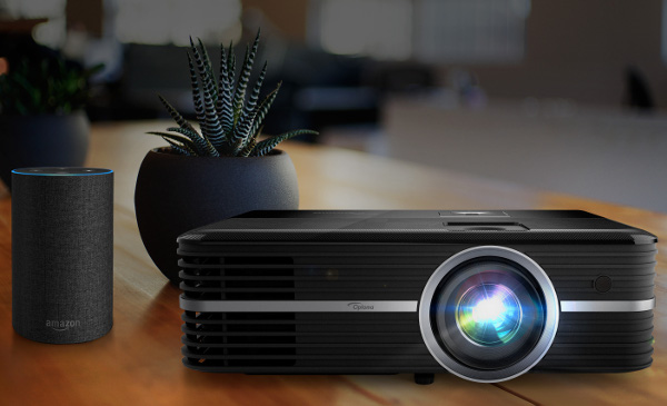 Optoma Ships First Alexa Voice-Enabled Projector