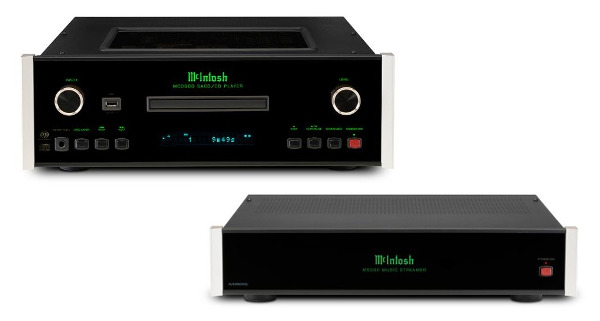 McIntosh Launches Streamer, Flagship SACD Player
