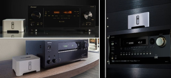 Onkyo and Pioneer Receivers Now 'Sonos Certified'
