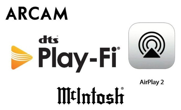 McIntosh and Arcam Get AirPlay 2 Via DTS Play-Fi