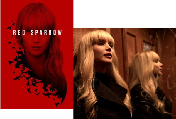 Spy Thriller 'Red Sparrow' Hits 4K Blu-ray Today