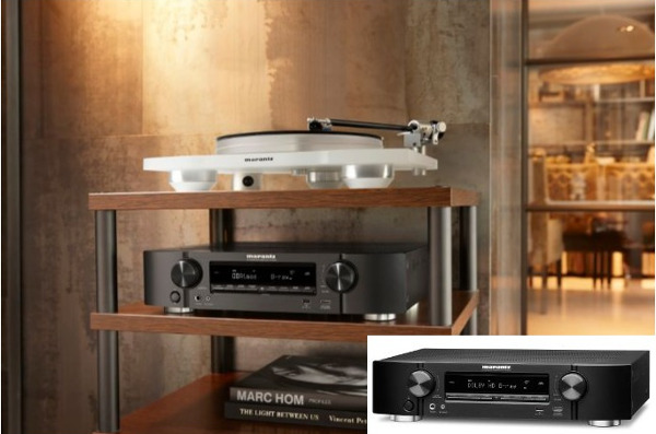 Marantz Adds Heos/Alexa-Ready AVRs to Slim Series
