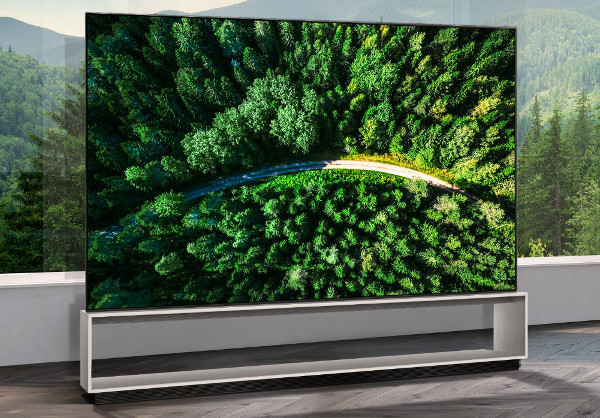 LG Announces Sale of First 8K OLED TV
