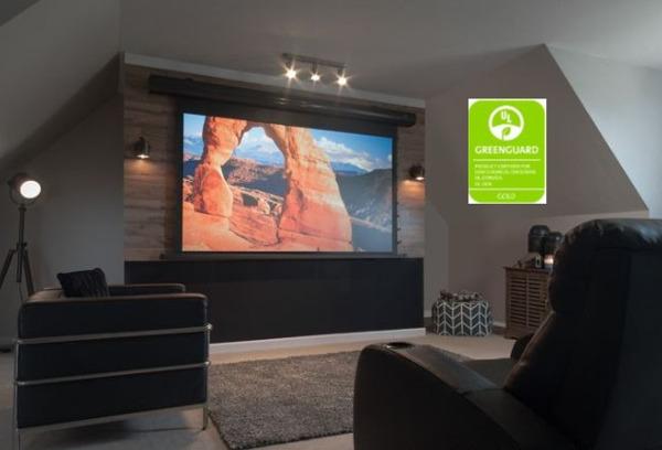 Elite's CineGrey Screens Get Greenguard Certification