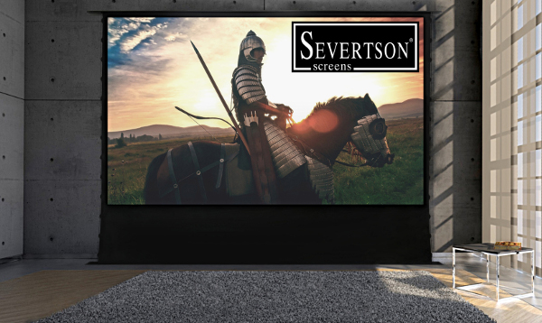 New Severtson Projection Screen Retracts Into Floor