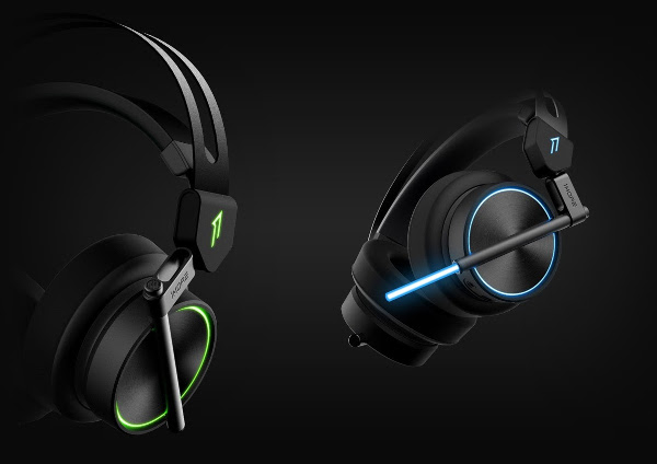1More Updates Gaming Headphones with 3D Sound Technology