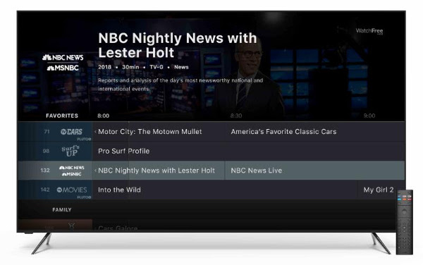 Vizio Rolls Out Free Cord Cutter Streaming Service