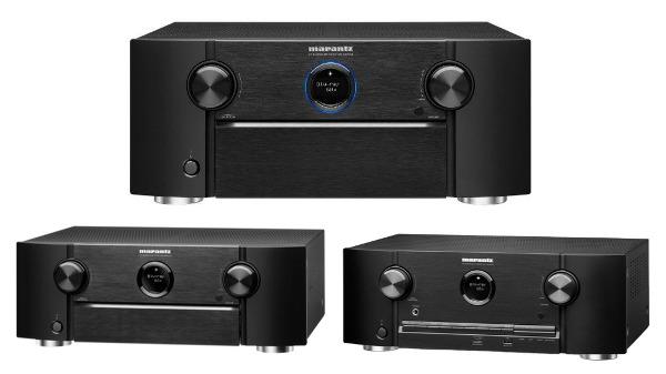 New Marantz AVR Boasts Auro 3D, AirPlay 2 & Alexa