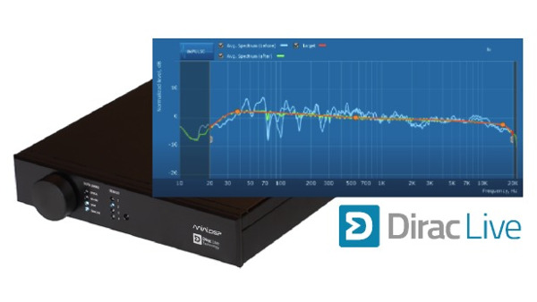 Dirac Live Room Correction Now Available for Hi-Res Audio Streaming
