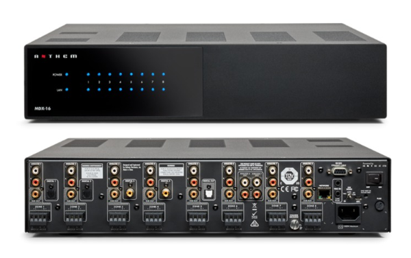 Anthem Launches Advanced Multi-Zone Audio Distribution Systems