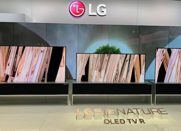 Following Up on LG's Super Sexy Rollup OLED TV