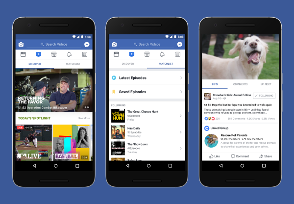 Facebook to Expand Video Offerings