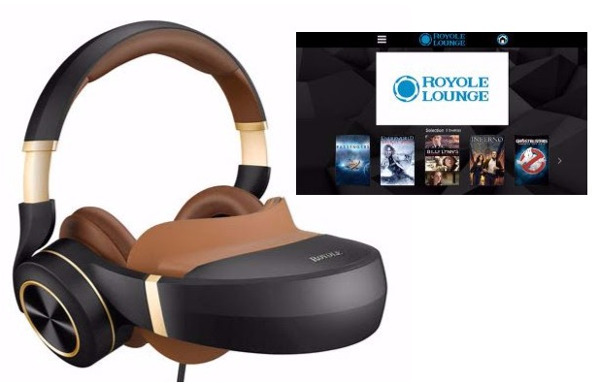 Sony Movies Available for Mobile Theater Headset