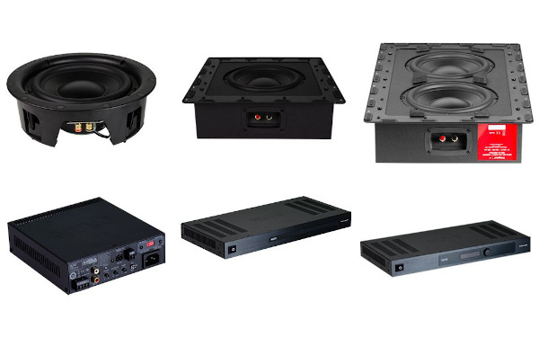 Legrand Unveils In-Wall Subs with Matching Amps