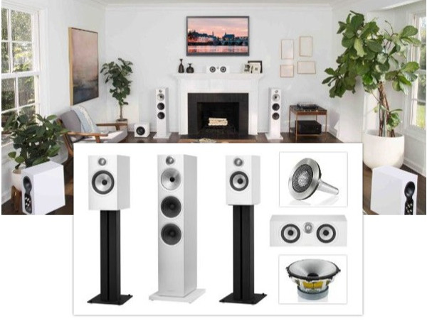 B&W Puts Flagship Tech in New 600 Series Speakers