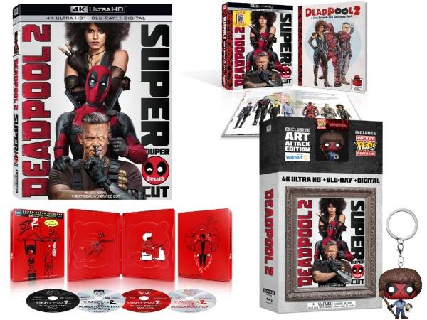 'Deadpool 2 Super Duper Cut' Hits 4K Blu-ray