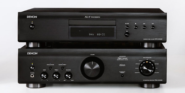 Denon Unveils $400 Integrated Amp, $300 CD Player