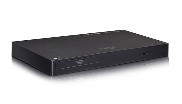 LG 4K/Ultra HD Blu-ray Player Now Available