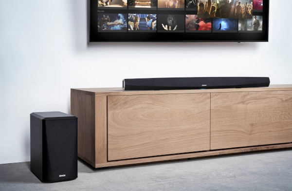 Denon Introduces Upscale, Hi-Res-Capable Soundbars
