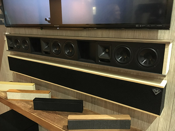 Klipsch Goes Retro With Custom Soundbar, Brings Jamo Back