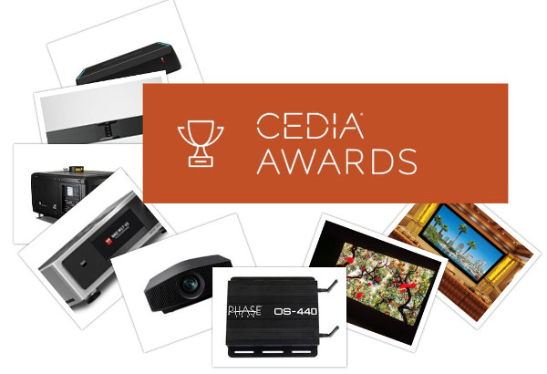 CEDIA Announces Best New Products of 2018
