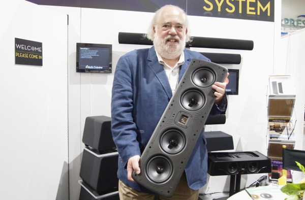 GoldenEar Demos Invisible Dolby Atmos System