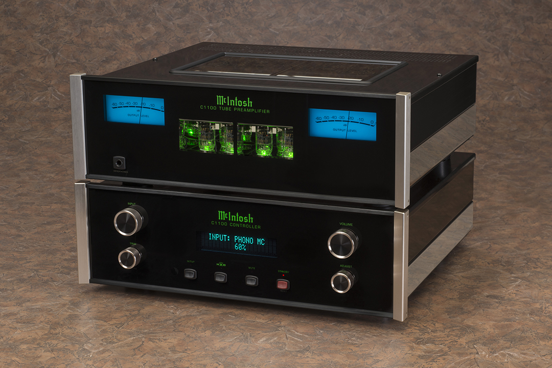 Mcintosh Intros Reference Grade Stereo Preamps Sound