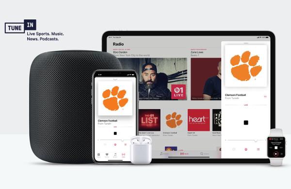 Apple Music & Siri-Enabled Devices Get TuneIn Radio