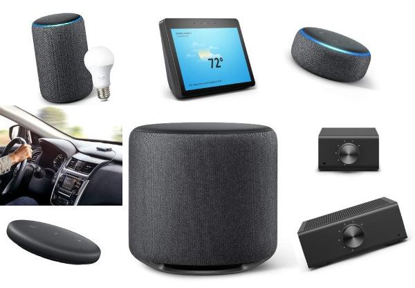 Amazon Expands Echo/Alexa Portfolio by 9 in Pre-Holiday Push