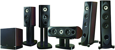 Pioneer Ex Series Surround Speaker System Sound Amp Vision
