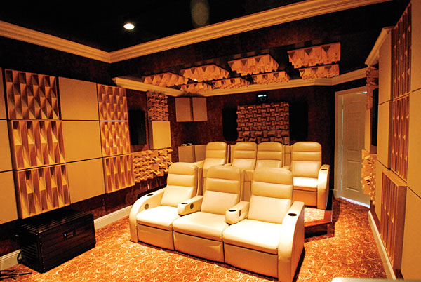 home theater acoustic design. Cover 20 percent of your room with absorptive treatments  Acoustics 101 Sound Vision