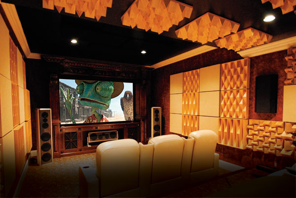 Home Cinema Diy Media Room Design