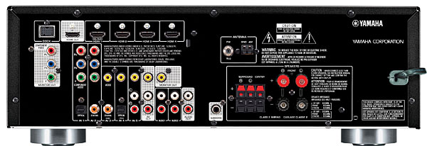 Yamaha RX-V371 A/V receiver | Sound & Vision on