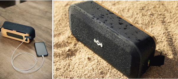 House of Marley Introduces a Speaker Made of Cork