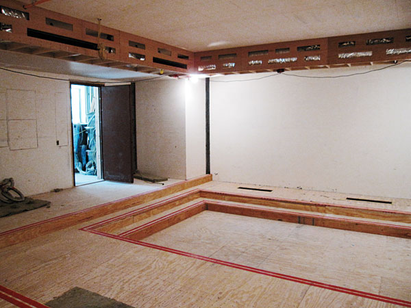 garage lighting ideas - Soundproofing 101 How To Keep Your Home Theater Quiet