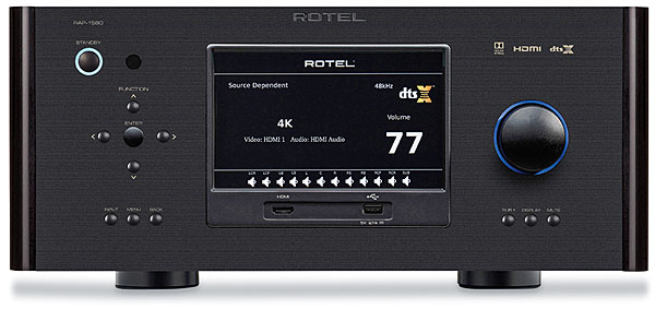 Rotel RAP-1580 Surround Amplified Processor Review | Sound & Vision