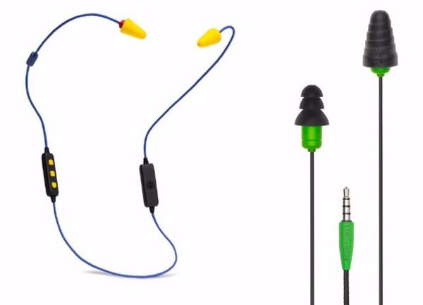 Meet Plugfones: Earplugs and Headphones in One