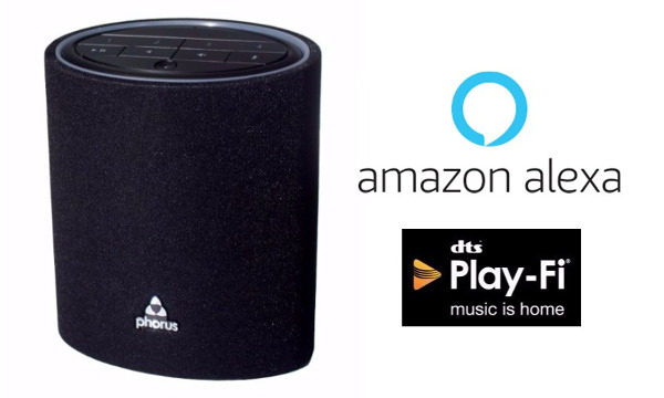 Phorus Ships First Alexa-Enabled Play-Fi Speaker