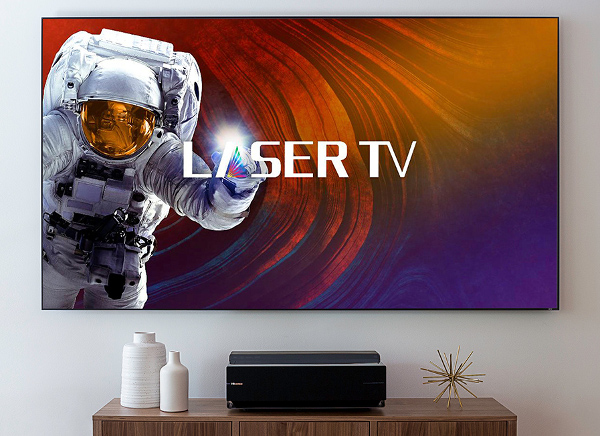 "Hisense Launches 100"" 4K 'Laser TV'"