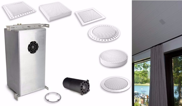 New Ceiling Speaker Designed for Big Bass, Max SPL