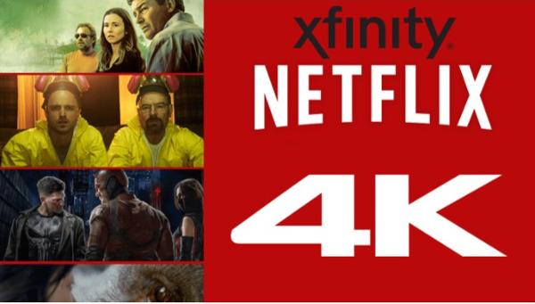 Netflix 4K Now On Comcast's Xfinity X1 Service