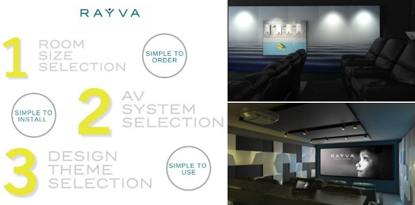 Rayva Adds Flexibility to its Turnkey Home Theaters