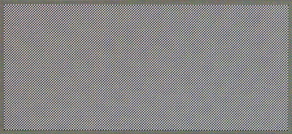 Black pixels on the samsung this checkerboard is clearly visible