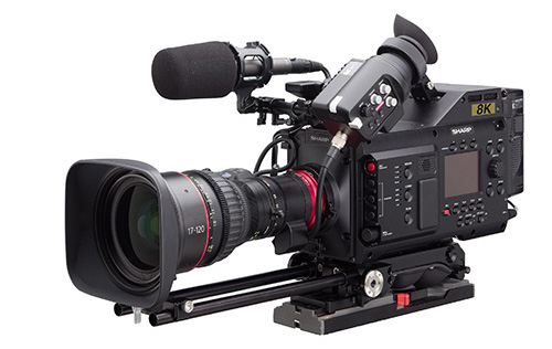 Sharp Announces World's First 8K Pro Camcorder