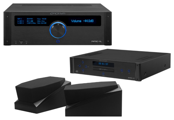 Emotiva Unveils 8 Products, Including New 16-Channel AV Processor