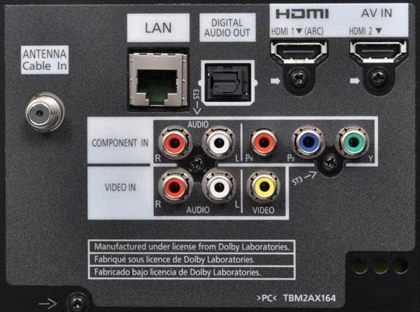 Panasonic viera hook up surround sound