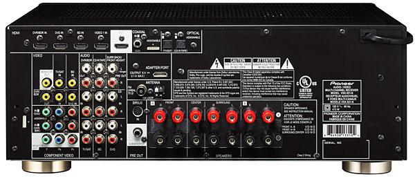 pioneer vsx 821 a v receiver sound vision rh soundandvision com Pioneer Stereo Receiver VSX Pioneer Stereo Receiver VSX