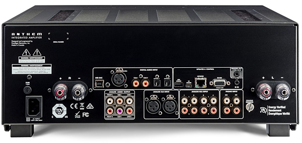 Anthem Str Integrated Amplifier Review Sound Amp Vision