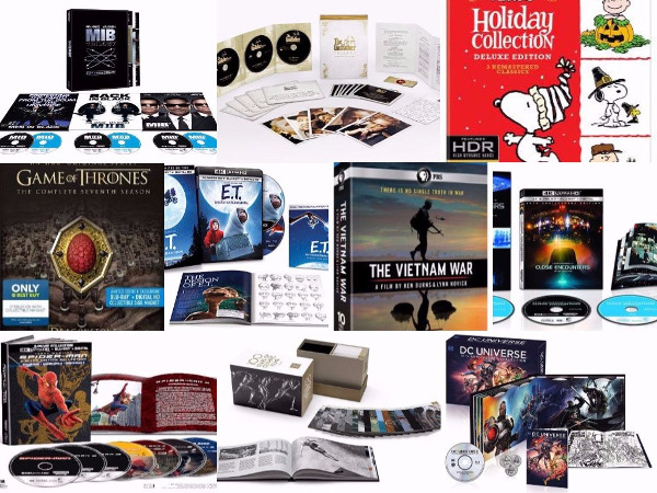 2017 Holiday Guide: 10 Outstanding Blu-ray Gift Sets